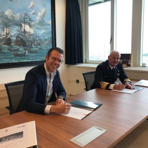 De Nederlandse marine gaat de centrale walbewaking (CWB) op de Marinebasis Den Helder voor de komende 6 jaar volledig uitbesteden.