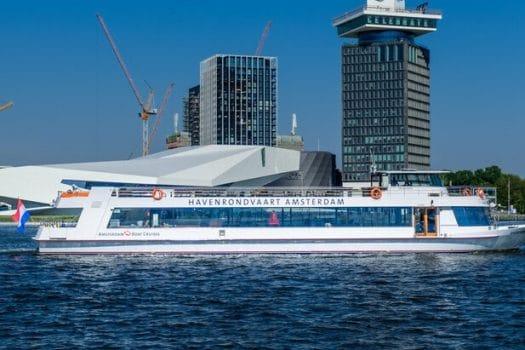 Amsterdam Boat Cruises introduceert nieuwe havenrondvaart: 'Beleef heden, verleden én toekomst van de haven'