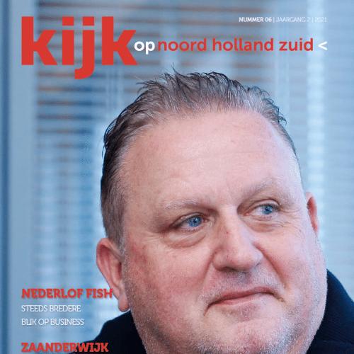 Gloednieuw: oktober-editie magazine Kijk op Noord-Holland Zuid nu te lezen